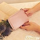 KINAZ 魔法多用途零錢票卡夾-粉嫩紅魔法-小物魔法系列