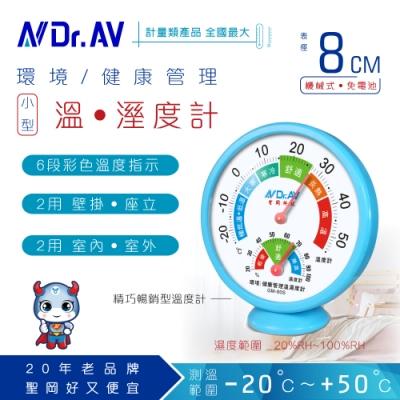 【N Dr.AV聖岡科技】GM-80S 環境/健康管理溫濕度計