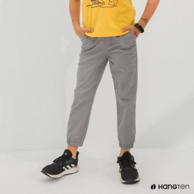 Hang Ten-男童-JOGGER FIT九分束口褲-灰色