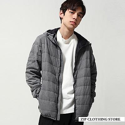 保暖羽絨夾克外套(3色) ZIP日本男裝