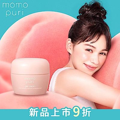 BCL momopuri 彈潤蜜桃保濕凝乳 80g