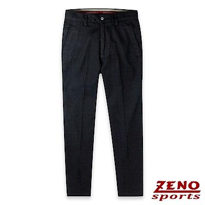 ZENO 彈性休閒長褲舒適款‧黑色