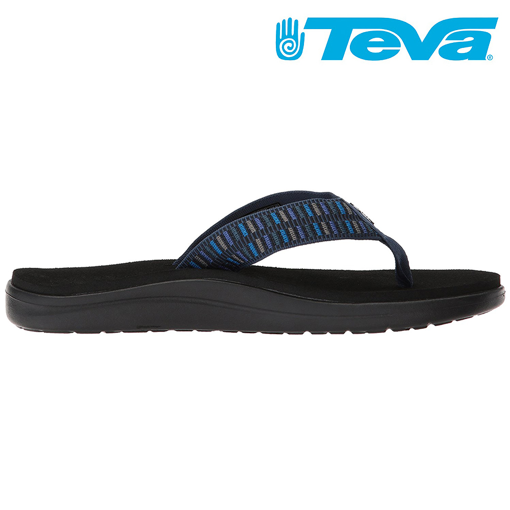 TEVA Voya Flip 男休閒拖鞋 編織藍