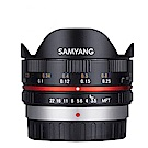 SAMYANG 7.5mm F3.5 Fish-eye FOR M4/3手動鏡頭(公司貨)