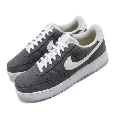 Nike 休閒鞋 Air Force 1 07 運動 男鞋 經典款 AF1 布面 簡約 球鞋 穿搭 灰 白 CN0866002