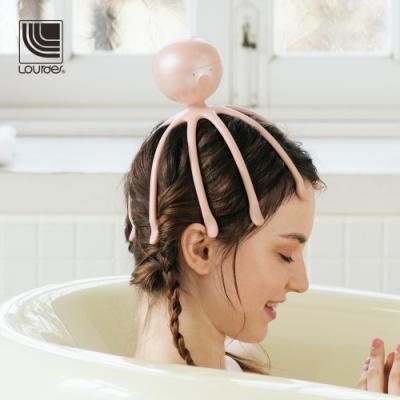 Lourdes小章魚音波紓壓頭皮按摩器(粉紅色)
