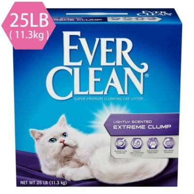 藍鑽EVER CLEAN 強效清香結塊貓砂(綠標)25LB