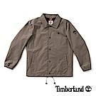 Timberland 男款棕色防水夾克外套 | A1NDC037