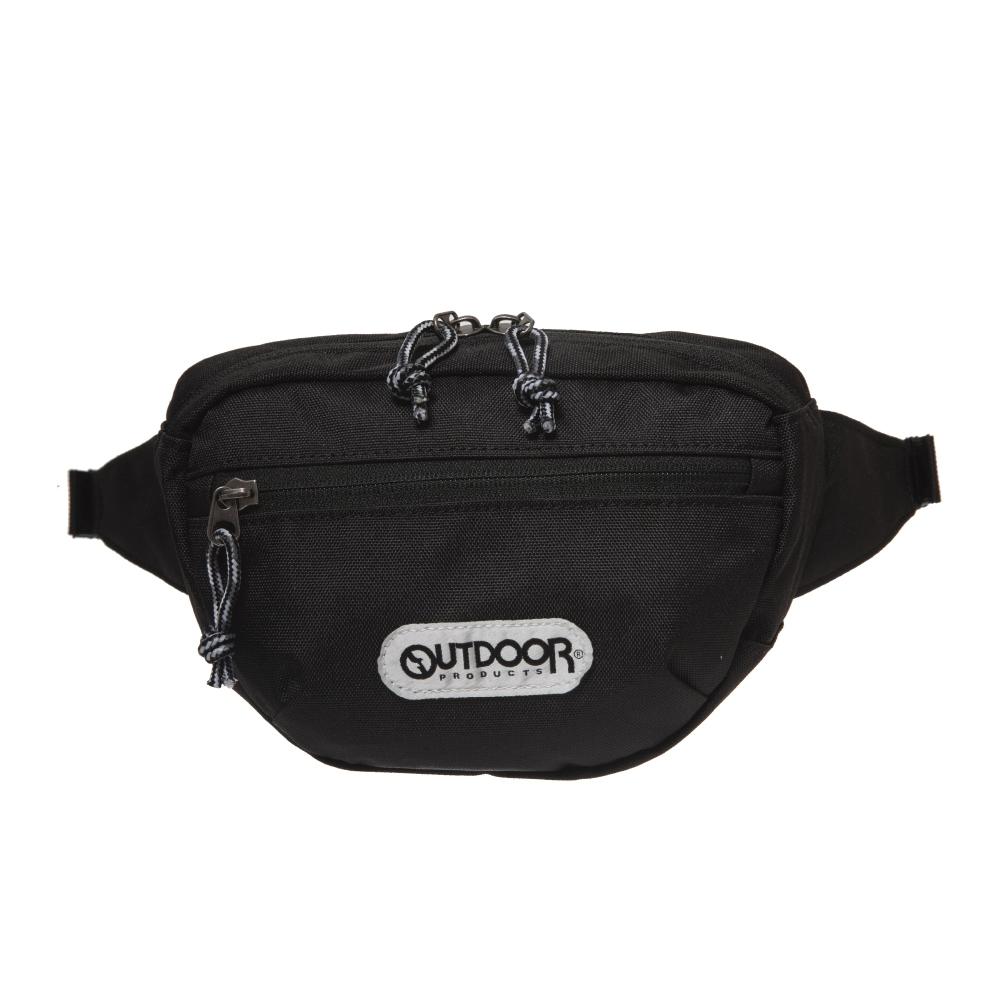 【OUTDOOR】旅遊配件-腰包-黑色 OD191105BK