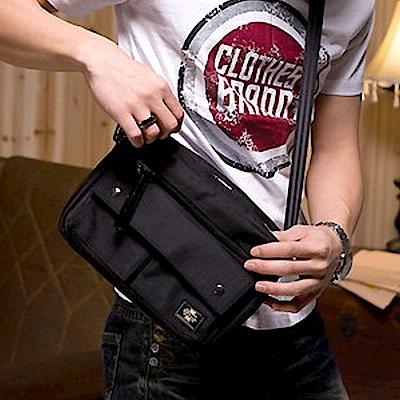 BuyGlasses 機能帆布側背包