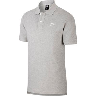 NIKE POLO衫 運動 休閒 高爾夫 網球 短袖上衣 灰 CJ4457063 AS M NSW SCE SHORT WVN NVLTY