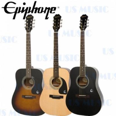 Epiphone DR-100木吉他 /含琴袋、肩帶、匹克、琴布/公司貨保固/黑色
