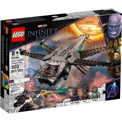 樂高LEGO 超級英雄系列 - LT76186 Black Panther Dragon Flyer