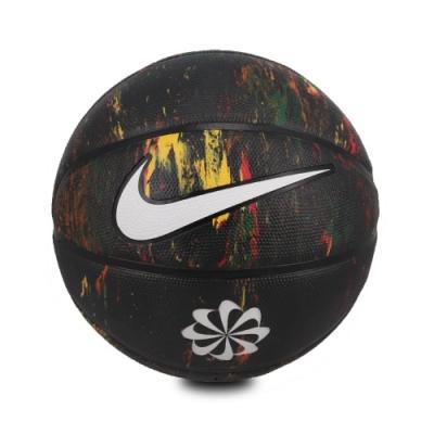 Nike 籃球 Revival Dominate 8P 7號球 標準球 潑墨 室內外 耐磨像膠 水泥地 藍 銀 N100247797307