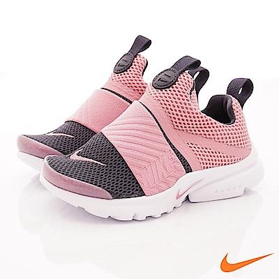 NIKE PRESTO 襪套鞋 EI70024-603灰粉(中小童段)