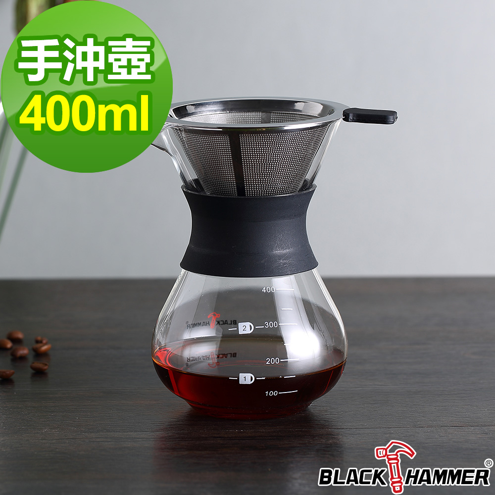 義大利BLACK HAMMER手沖咖啡壺-400ml product image 1