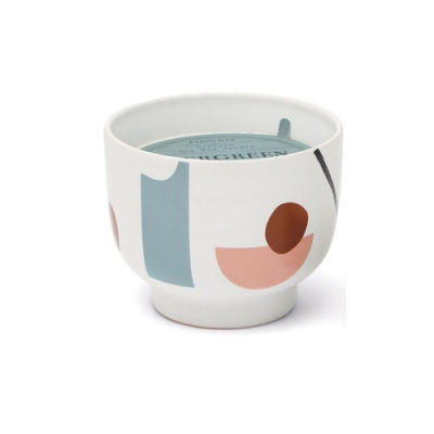 PADDYWAX 美國香氛 Wabi Sabi系列 常綠萬年青 幾何印花陶罐 340g