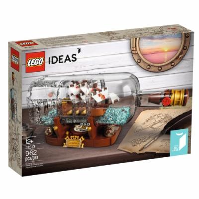 樂高LEGO IDEAS 系列 - LT21313 瓶中船