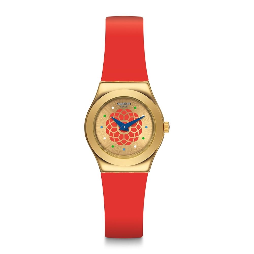 Swatch Irony 金屬Lady系列手錶 PARFUM D'ORIENT 神秘香氛-25mm