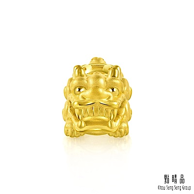 點睛品 招財貔貅 黃金吊墜
