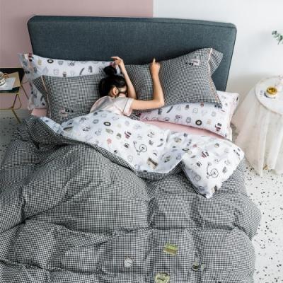 BUNNY LIFE 雙人-GRACE-LUXY輕奢天絲綢床包被套組