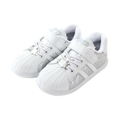 魔法Baby  女童鞋 台灣製迪士尼冰雪奇緣正版休閒運動鞋 sa14409