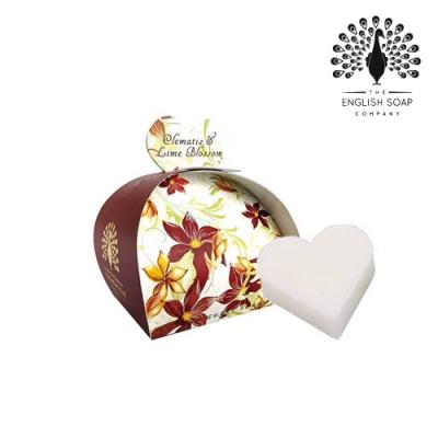 The English Soap Company 乳木果油植萃香氛皂-橙蓮花 Clematis & Lime Blossom 60g