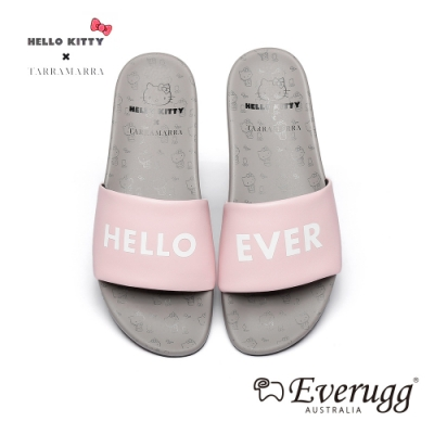 澳洲EVERUGG HELLO KITTY聯名休閒拖鞋(粉紅色) N2