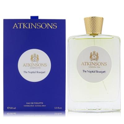 ATKINSONS NUPTIAL BOUQUET維多利亞的婚禮EDT100ML贈同品牌隨機針管3入