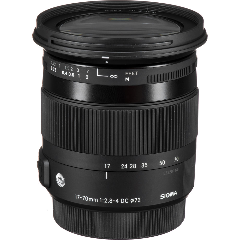 SIGMA 17-70mm 2.8-4 DC MACRO HSM II變焦鏡(公司貨)