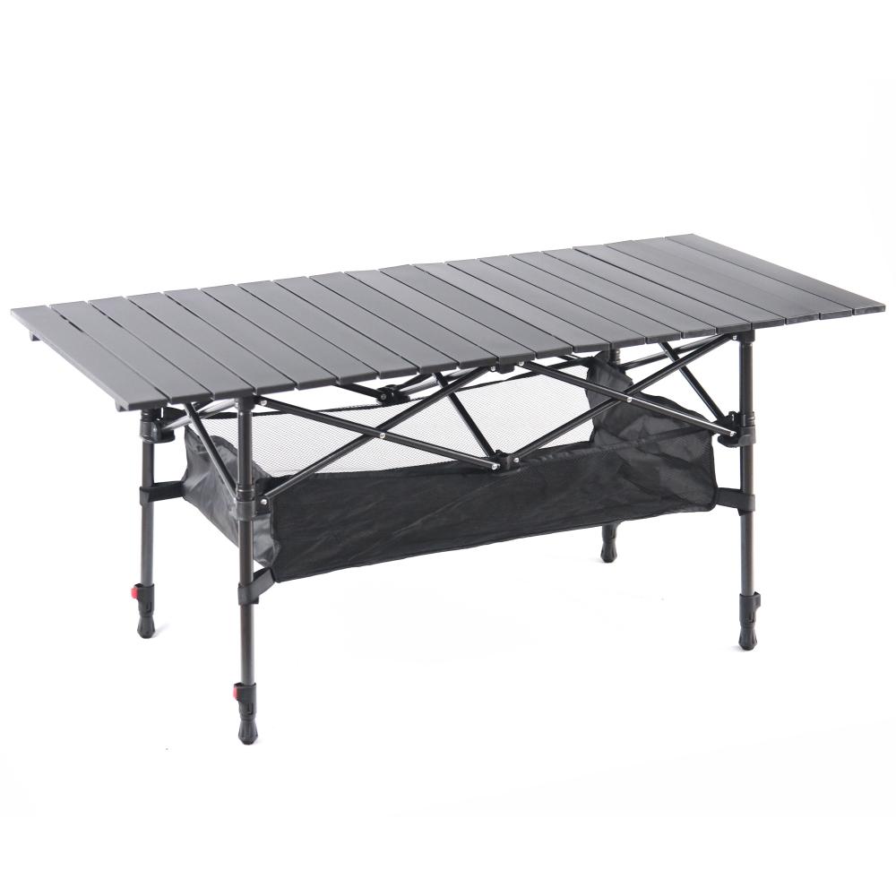 Tree Walker 攜帶型可升降高度大黑鋁桌