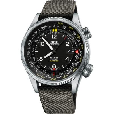ORIS ProPliot Altimeter高度儀飛行錶-47mm 0173377054164