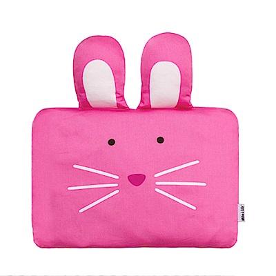 Milo & Gabby 動物好朋友-嬰兒枕頭套(LOLA兔兔)