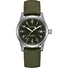 Hamilton  卡其野戰系列軍事機械錶(H69439363)