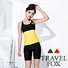 TRAVEL FOX夏之戀 大女長版二件式泳衣