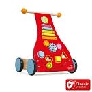 【德國 classic world 客來喜經典木玩】童感學步車《3302》