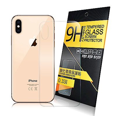 NISDA  for iPhone Xs Max 背面鋼化 9H 0.33mm玻璃螢幕貼