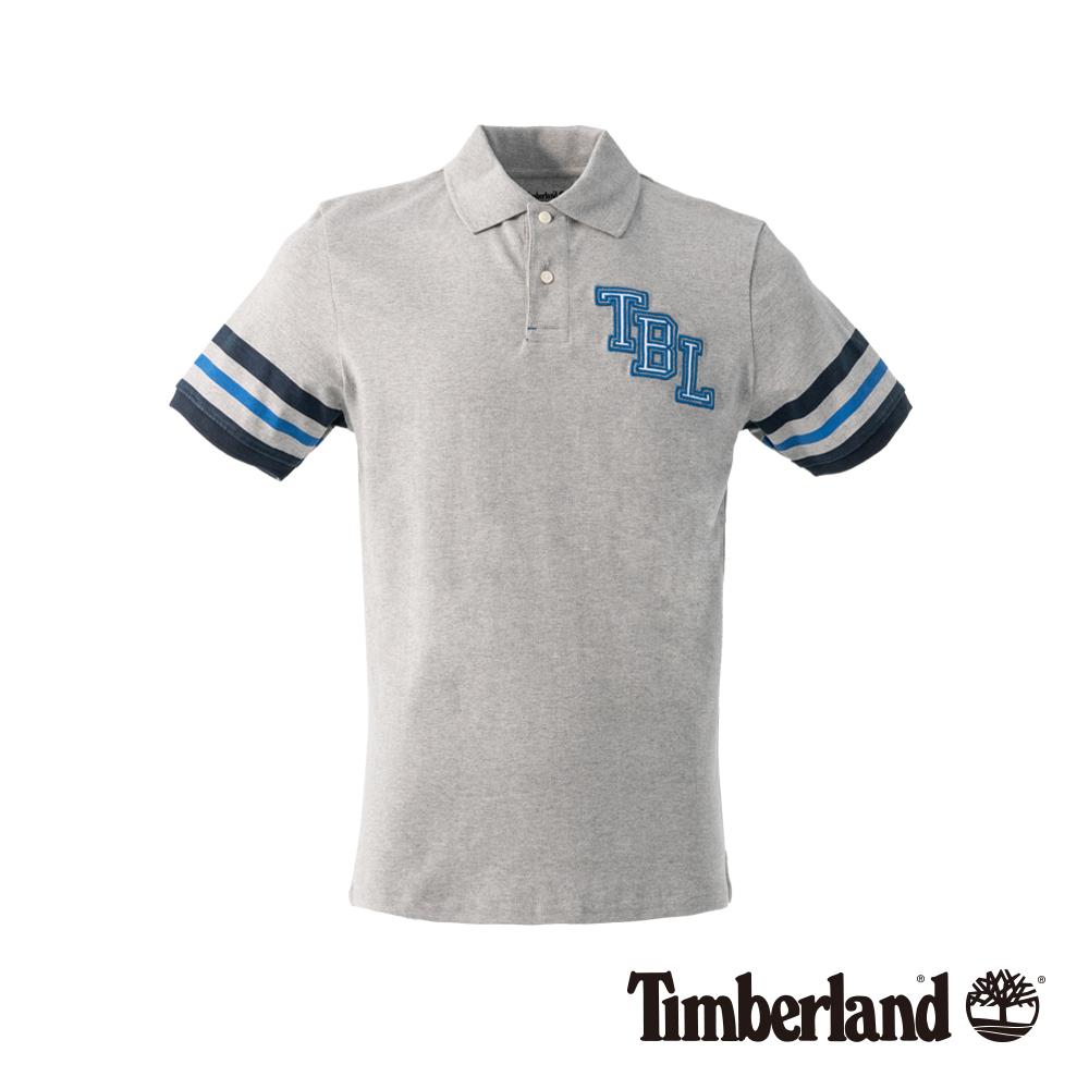 Timberland 男款中灰色 POLO 衫|A1NFX