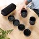 EZlife旅行便攜茶具組-黑陶款(贈乾濕分離手提包) product thumbnail 2