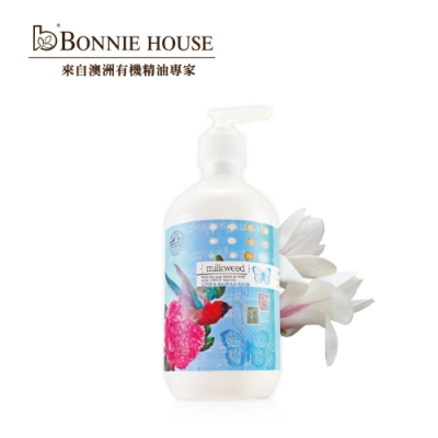 Bonnie House 乳草斑蝶蓮花玉蘭花清熱潔膚乳500ml