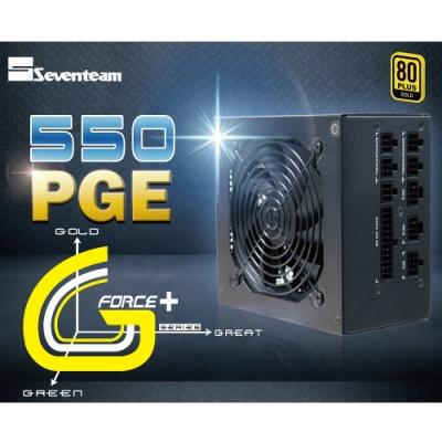 七盟 ST-550PGE 金牌/全模/DC-DC/主日系 電源供應器
