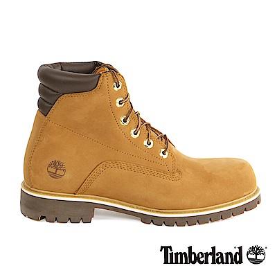 Timberland 男款小麥色防滑透氣高筒靴