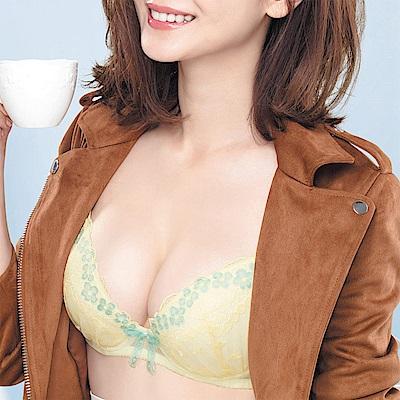 莎薇 好愛現 美麗遊我 D-E 罩杯內衣(日出黃)