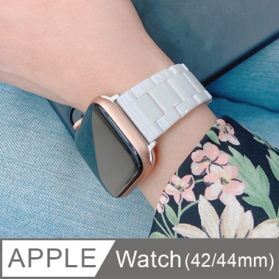 Apple Watch 38/40mm 質感陶瓷替換手錶錶帶(附錶帶調整器)