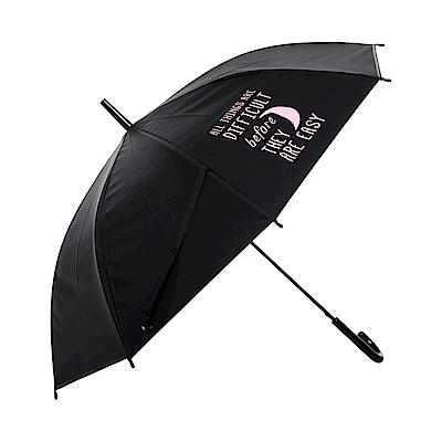 樂嫚妮 自動開傘/直立雨傘-月亮