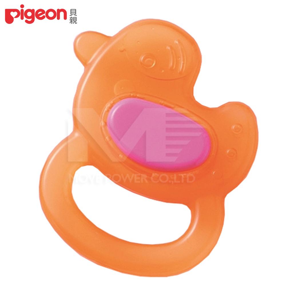 【任選】日本《Pigeon 貝親》小雞冰涼固齒器