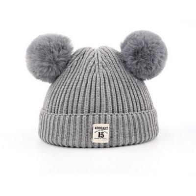 Baby童衣 初生嬰兒帽子 男女寶寶新生兒保暖 針織冬季套頭帽 88231