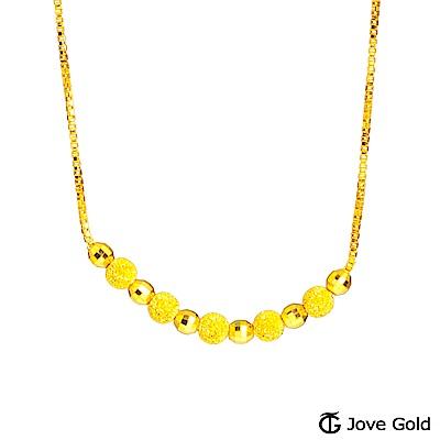 Jove gold 依偎黃金項鍊