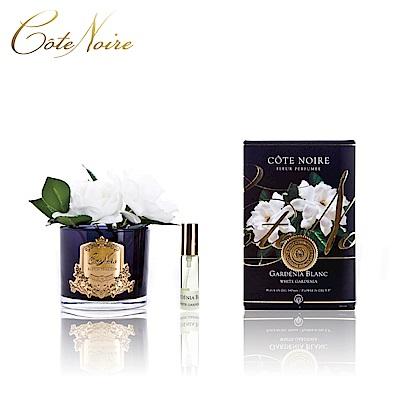 法國 CoteNoire 蔻特蘭 雙朵槴子花香氛花黑瓶