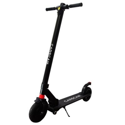 CARSCAM 8吋雙避震鋁合金8.8Ah輔助輪電動折疊滑板車